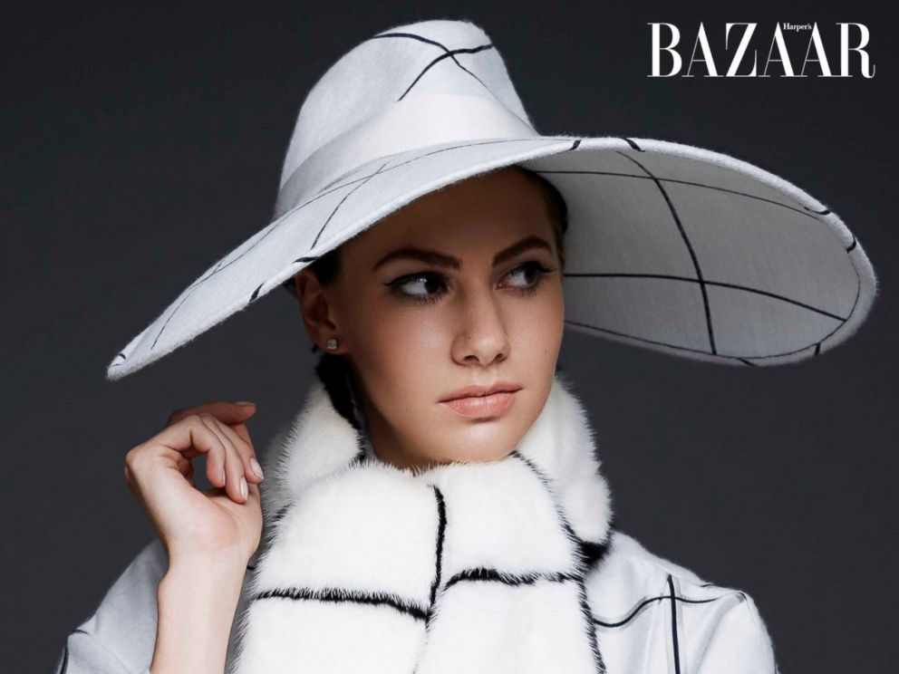 PHOTO: Emma Ferrer, the granddaughter of Audrey Hepburn, appears on the Sept. 2014 cover of Harpers Bazaar.