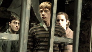Rupert Grintm center, stars alongside Daniel Radcliffe and Emma Watson in ?Harry Potter and the Half-Blood Prince.