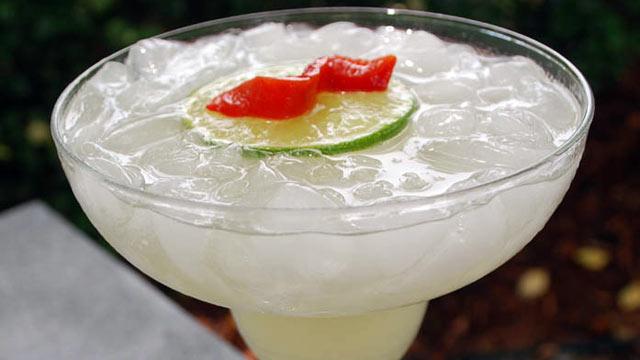 PHOTO: Herradura's habanero margarita is shown here.