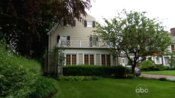 "PHOTO: This home used for external shots in ""Amityville Horror"" was dressed up for filming, according to New York Post."
