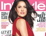 PHOTO: Salma Hayek covers the July issue of InStyle.