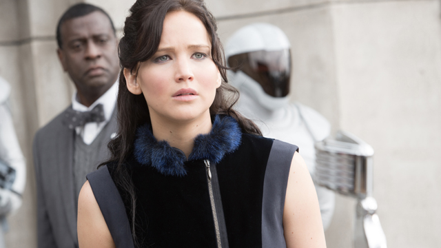 "PHOTO: Jennifer Lawrence stars as ?Katniss Everdeen? in ""The Hunger Games: Catching Fire."""