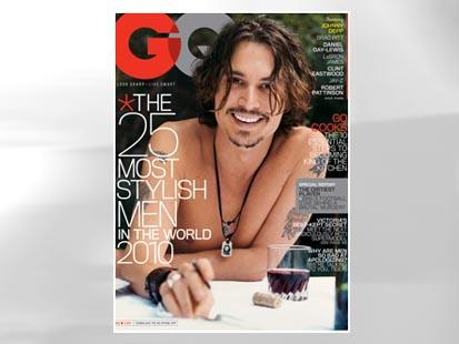Nude Covers Johnny Depp. Johnny Depp. Courtesy GQ/Patrick DeMarchellier