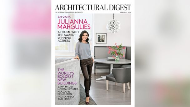 PHOTO: The cover of the Feb. 2014 issue of Architectural Digest.