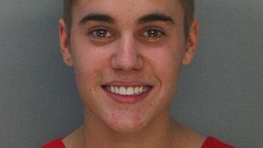 PHOTO: Justin Bieber was arrested on Jan. 23, 2014, for DUI and drag racing in Miami.
