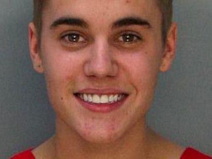 See Justin Biebers Mug Shot