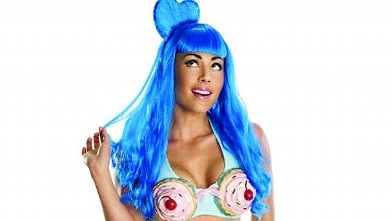 PHOTO: Katy Perry Halloween costume.