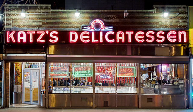 ht katz delicatessen james karla murray new york nights lpl 130205 blog PHOTOS: Neon New York Nights