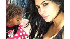Kim Kardashian and North West Get Silly at 6 a.m.