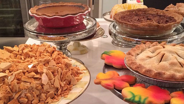 """PHOTO:""""Yummy!!!! #blessed,"""" posted Kris Jenner, Nov. 28, 2013."""