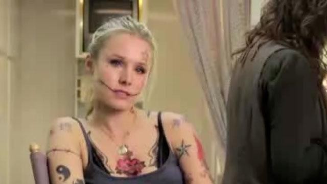 The gallery for --> Does Kristen Bell Really Have Tattoos