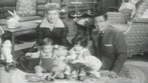 ht luci desi tk 120827 wblog I Love Lucy: Early Footage of Lucys Real Kids