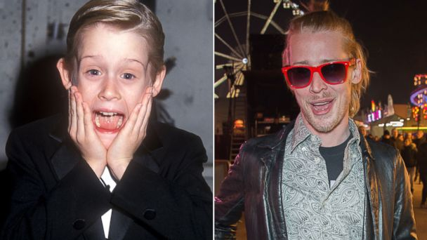 PHOTO: Actor Macauley Culkin is seen left in this 1991 file photo and right in an image taken in March, 2013.