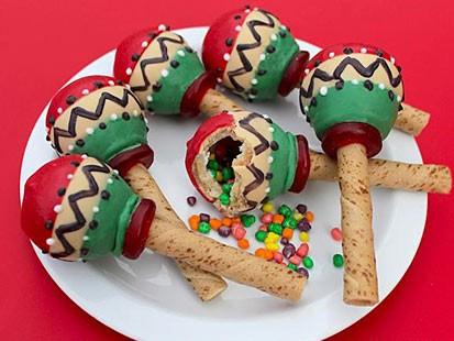 PHOTO: Maraca cookies
