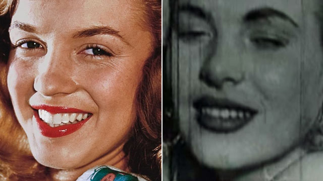 PHOTO:Seen here is Marilyn Monroe, left, and a film still which allegedly shows Monroe having sex.