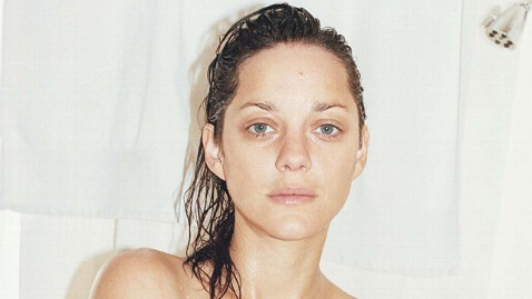 ht marion cotillard ll wblog Stars Strip Off Makeup for W Magazine