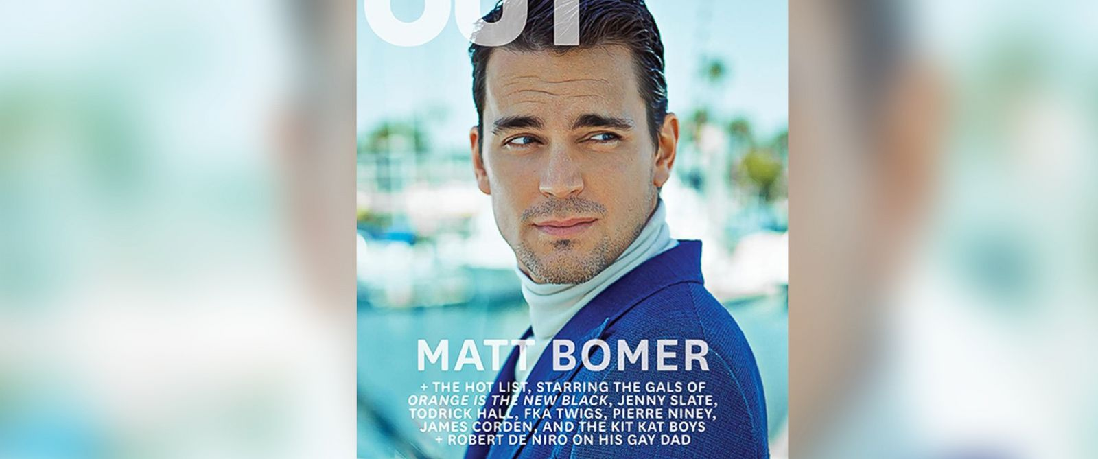PHOTO: Matt Bomer appears on the cover of the June/July issue of OUT Magazine.