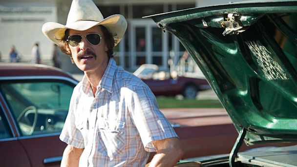 "PHOTO: Matthew McConaughey in the film ""Dallas Buyers Club"""