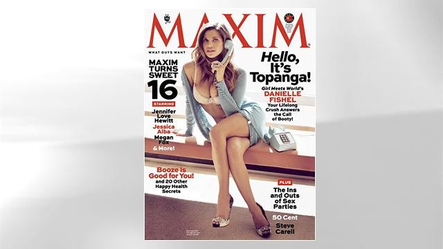 danielle fishel poses for maxim danielle fishel is 31 now and posing ...