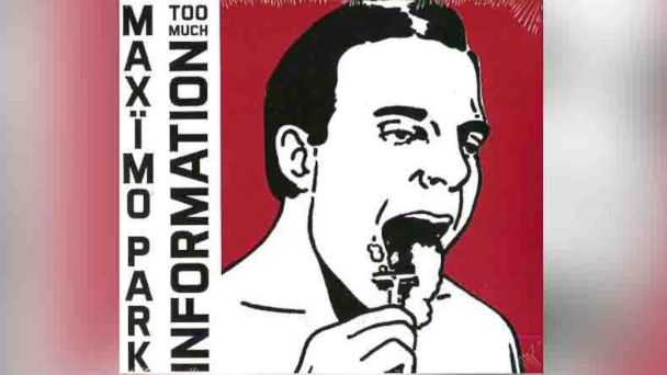 "PHOTO: Maximo Parks album ""Too Much Information"""