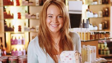 """Lindsay Lohan appears in the 2004 film, """"Mean Girls""""."""