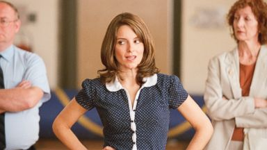 """Tina Fey appears in the 2004 film, """"Mean Girls""""."""