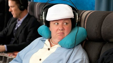 "PHOTO: Melissa McCarthy in Universal Pictures' ""Bridesmaids."""