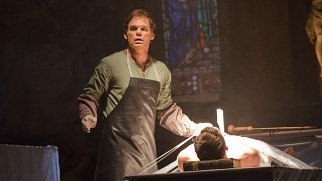 "PHOTO: Michael C. Hall as Dexter Morgan in ""Dexter,"" Season 7, Episode 1."