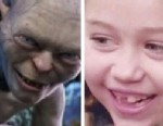PHOTO: Miley Cyrus posts this photo on Twitter on March 20, 2013 comparing herself to Gollum, a character from the Lord of the Rings trilogy.
