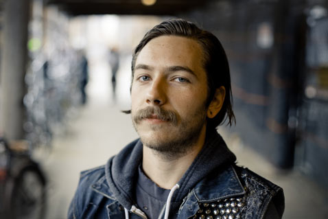 ht mustache leather jacket nt 120117 Flickr Photographer: Sam Horine