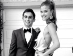 """PHOTO: Model Nina Agdal posted this photo to her Instagram and tweeted, """"Had such a great prom night. Thank you @jakedavidson23 for being an awesome date!"""" on May 23, 2013."""