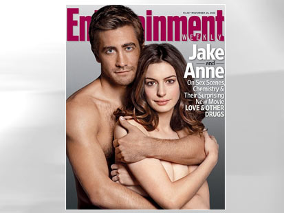 PHOTO Anne Hathaway and Jake Gyllenhaal grace the cover of Entertainment ...