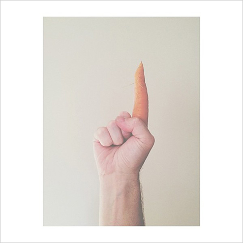ht number 1 carrot brock davis ll 130115 wblog Instagram Art: Brock Davis Whimsical iPhone Photos