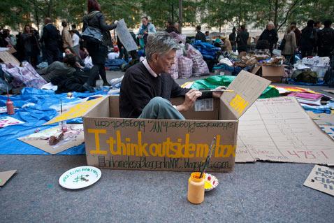 ht occupy wall street nt 120117 Flickr Photographer: Sam Horine