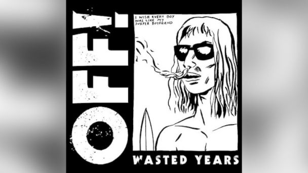 "PHOTO: OFF!s ""Wasted Years"""