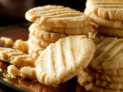 PHOTO: Beth Leonards crunchy peanut butter cookies are shown here.