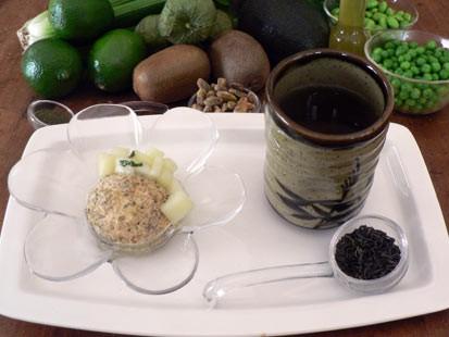 PHOTO: Diane Henderiks pepita crusted frozen yogurt is shown here.