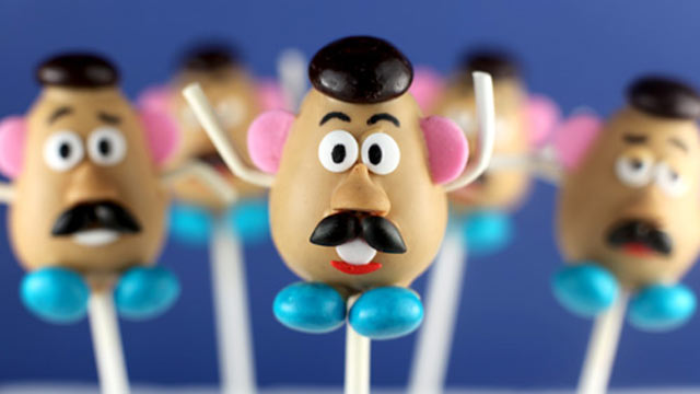 PHOTO: Bakerella's Mr.Potato Head cake pops are shown here.