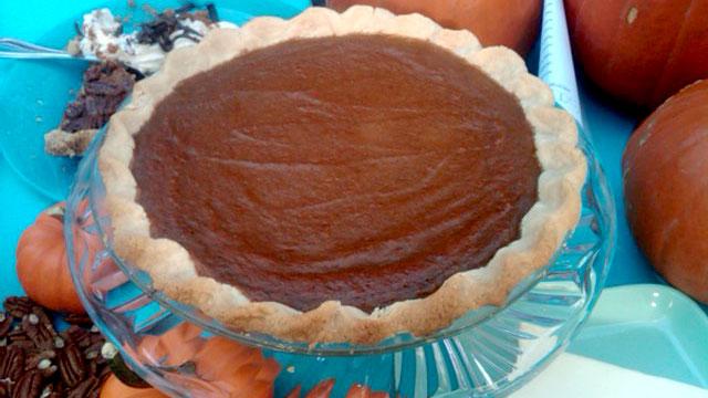 PHOTO:A holiday classic, Emeril's Pumpkin Custard Pie.