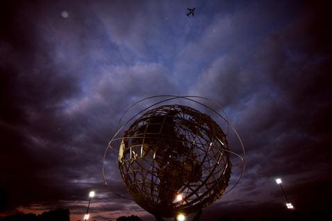 ht queens globe nt 120117 Flickr Photographer: Sam Horine