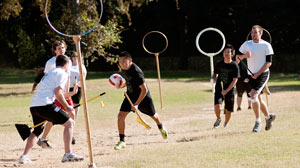 Photo: Harry Potters Quidditch Goes National With NYC World Cup This Month: The International Quidditch Association Seeks NCAA Approval as a Varsity Sport