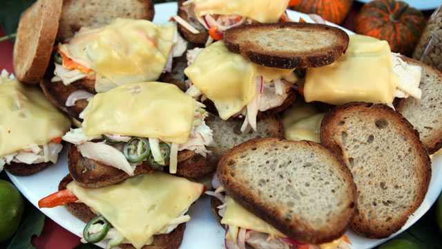 "PHOTO: Emeril's ""The Rachel"" sandwich is shown here."