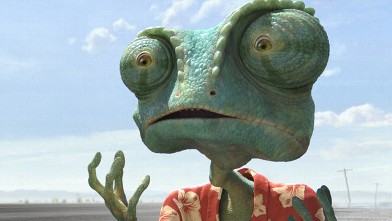 "PHOTO: A still from the Paramount Pictures film ""Rango."""