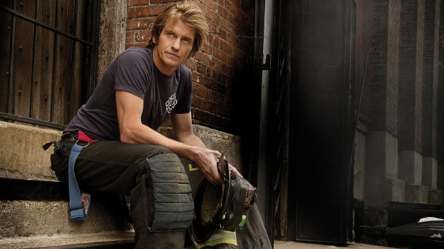 """PHOTO:Denis Leary stars in """"Rescue Me""""."""