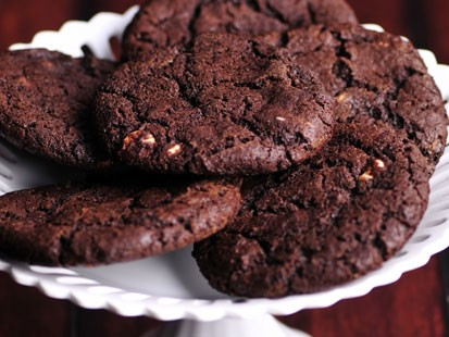 PHOTO: Beth Leonards reverse chocolate chip cookies are shown here.