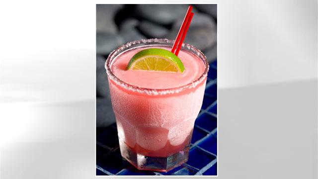 PHOTO: Rosa Mexicano's pomegranate margarita is shown here.