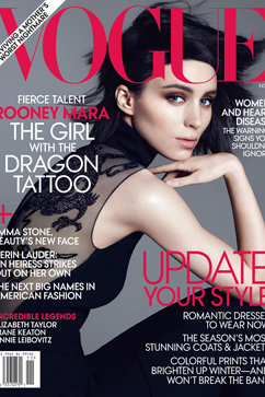 ht rooney mara vogue nt 111018 vblog Rooney Mara on Not Eating, Filming Rape for Girl with the Dragon Tattoo