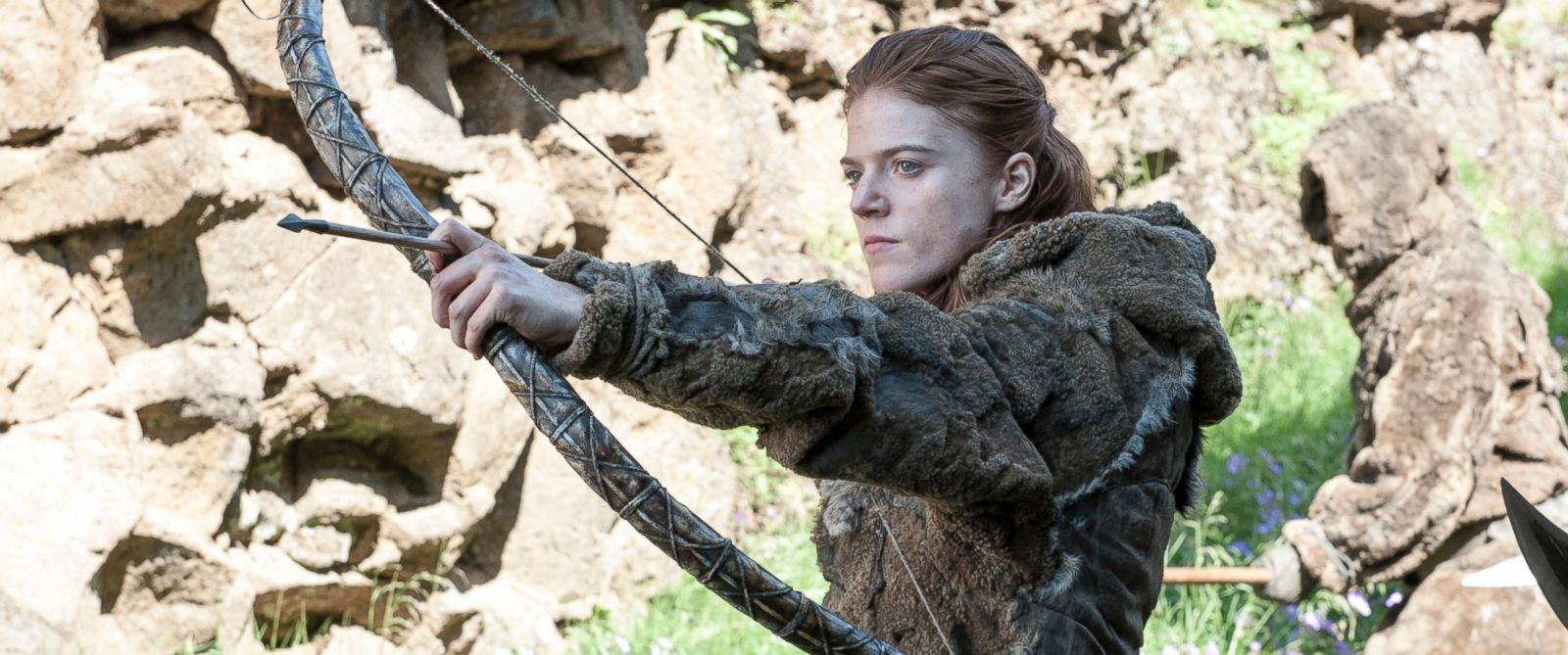 """PHOTO: Rose Leslie is pictured in season 4 of """"Game of Thrones."""""""