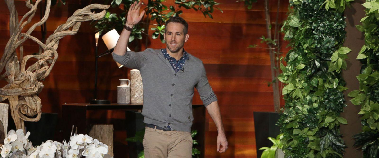 """PHOTO: Ryan Reynolds appears on """"Ellen,"""" Feb. 17, 2016."""