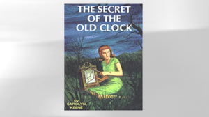 "PHOTO The 1931 hardcover book 1 in the Nancy Drew Series, ""The Secret of the Old Clock,"" is shown."